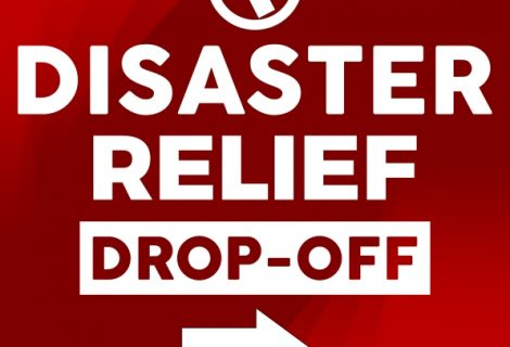 Disaster Relief Drop-Off Center